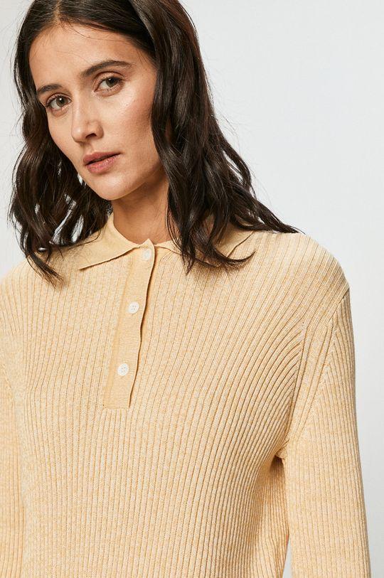jasny żółty Samsoe Samsoe - Sweter