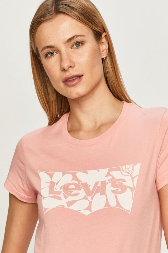 różowy Levi's - T-shirt