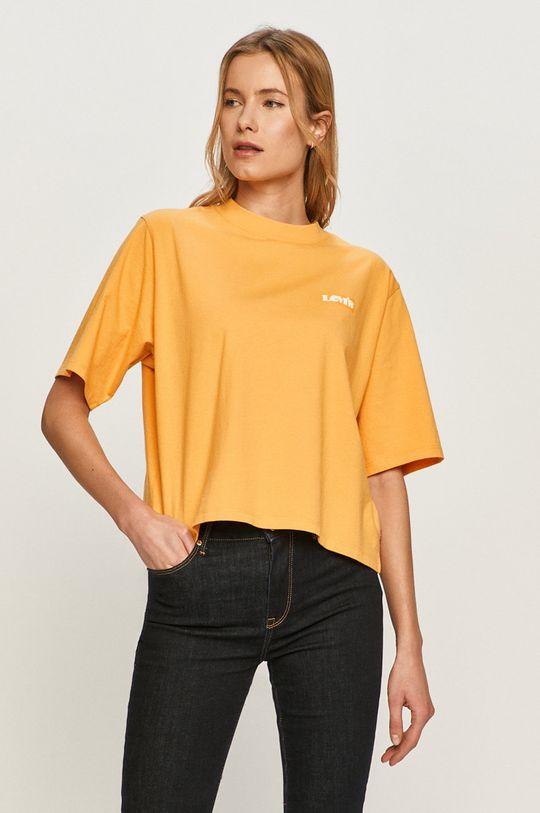 žlutá Levi's - Tričko Dámský