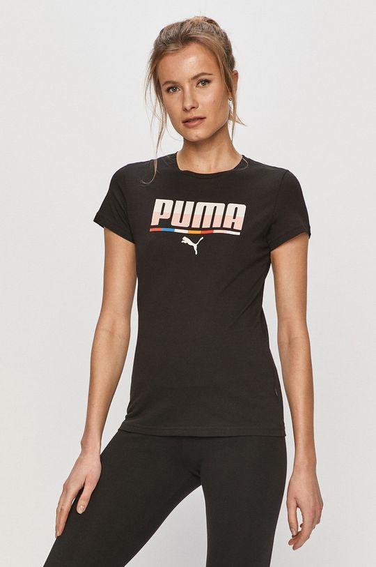 čierna Puma - Tričko Dámsky