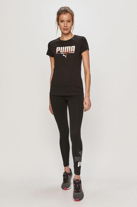Puma - Tričko čierna