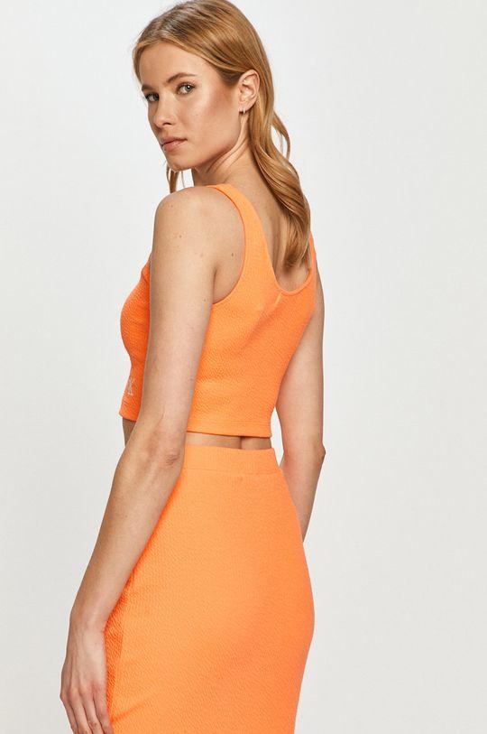 Calvin Klein Jeans - Top  21% Bavlna, 6% Elastan, 73% Polyester