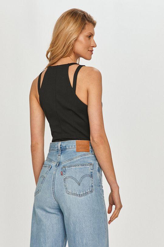 Calvin Klein Jeans - Top 4 % Elastan, 77 % Poliester, 19 % Wiskoza