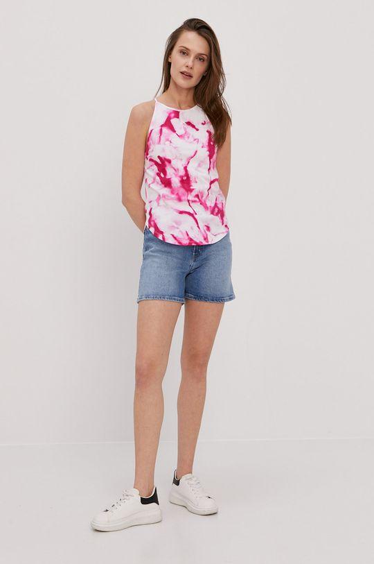 Calvin Klein Jeans - Top różowy