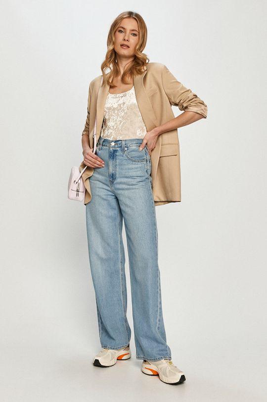Calvin Klein Jeans - Top piaskowy