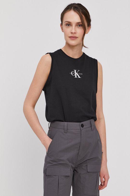 czarny Calvin Klein Jeans - Top Damski
