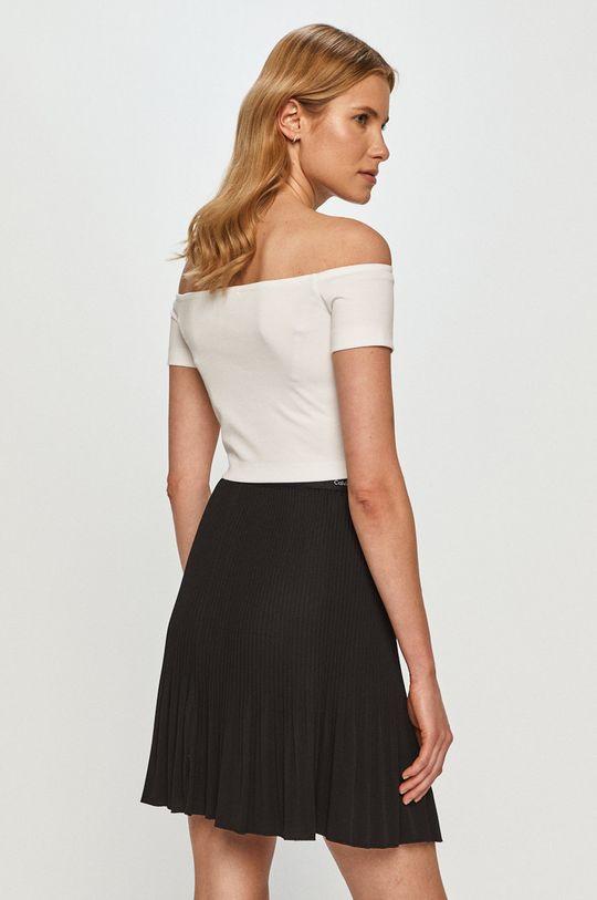 Calvin Klein Jeans - Tričko  4% Elastan, 77% Polyester, 19% Viskóza
