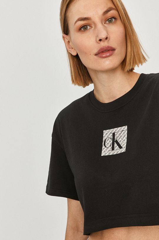 czarny Calvin Klein Jeans - T-shirt