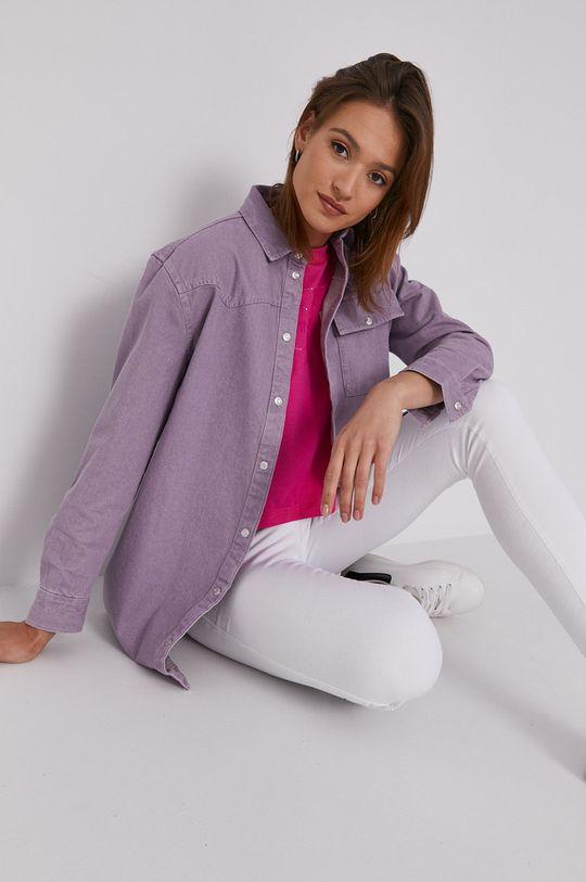 Calvin Klein Jeans - Tričko ostrá růžová