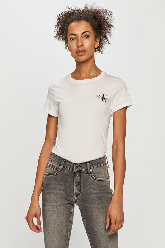 pomarańczowy Calvin Klein Jeans - T-shirt (2-pack) Damski