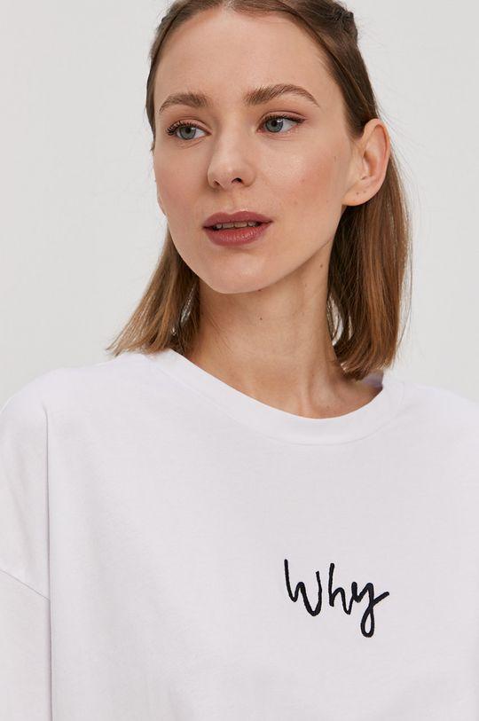biały Noisy May - T-shirt
