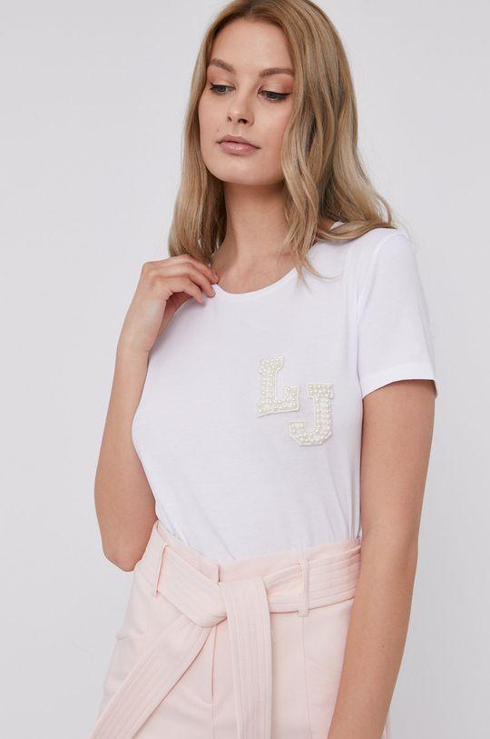 biały Liu Jo - T-shirt Damski
