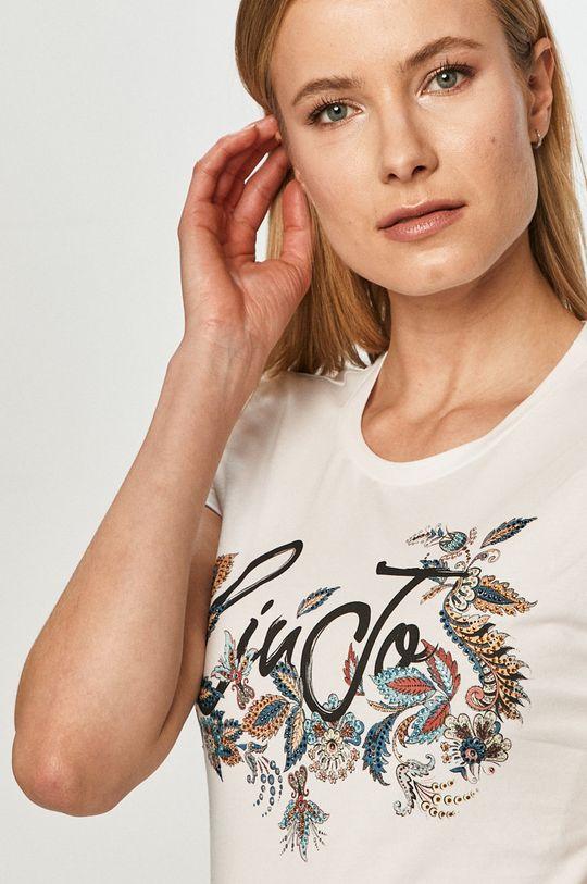 biały Liu Jo - T-shirt