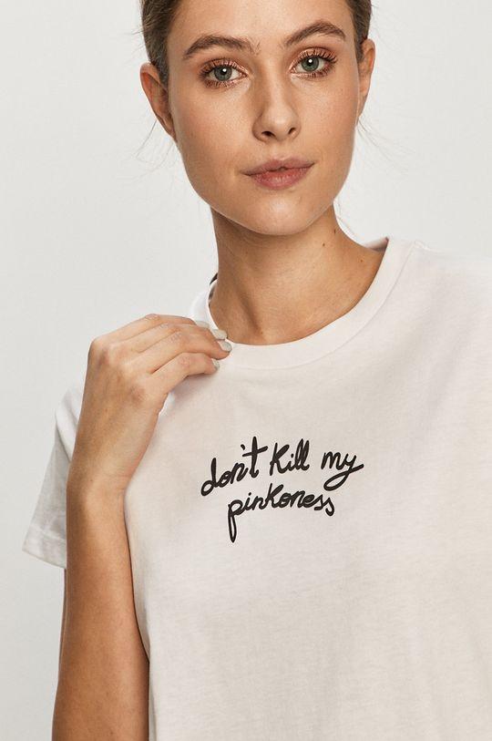biały Pinko - T-shirt Damski
