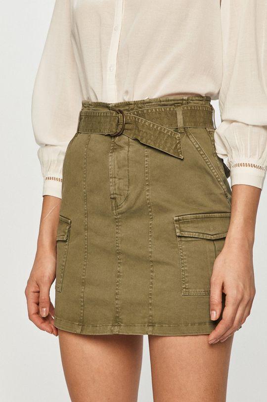 oliwkowy Pepe Jeans - Spódnica Maddox Damski