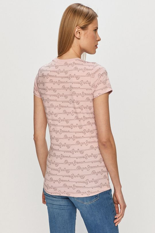 Pepe Jeans - T-shirt Cecile 50 % Bawełna, 50 % Poliester