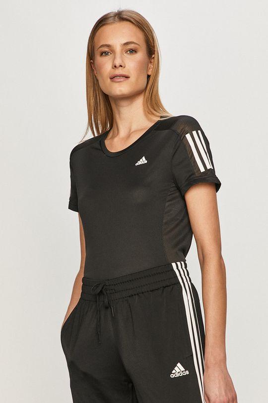 czarny adidas Performance - T-shirt