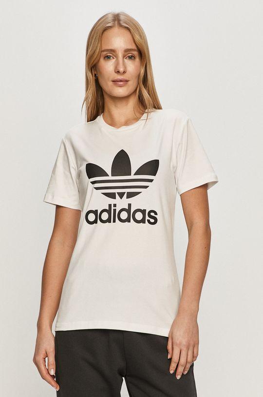 bílá adidas Originals - Tričko Dámský