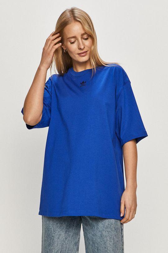 albastru adidas Originals - Tricou De femei