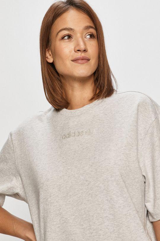 jasny szary adidas Originals - T-shirt