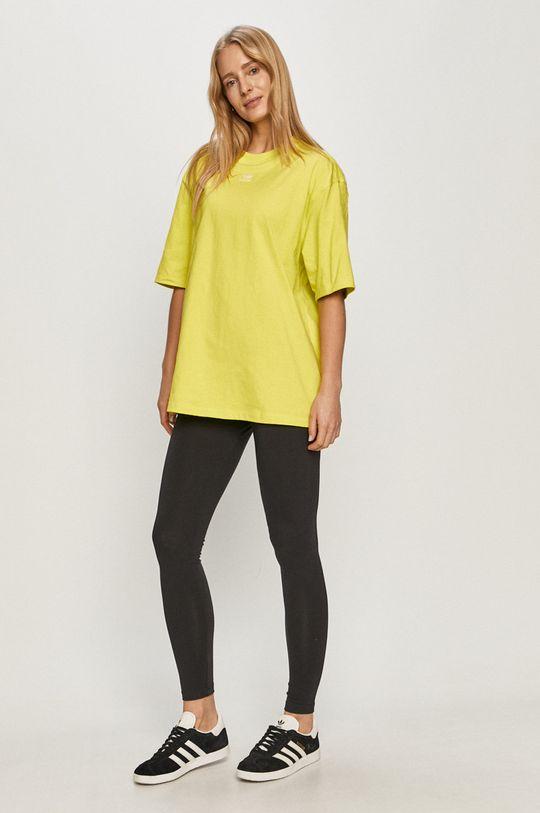adidas Originals - Tričko žlutě zelená