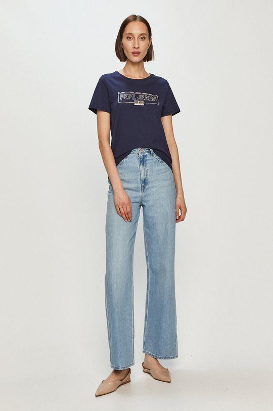 Pepe Jeans - Tričko Betty námořnická modř