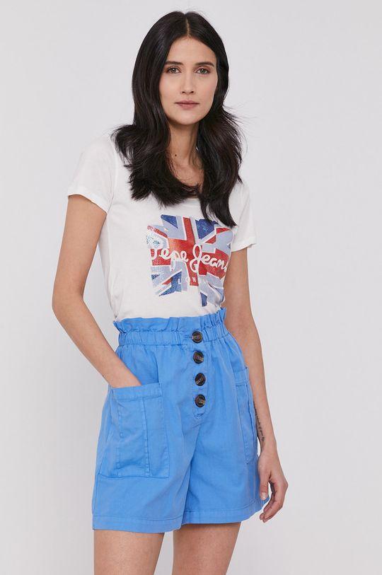 biały Pepe Jeans - T-shirt Blaze Damski