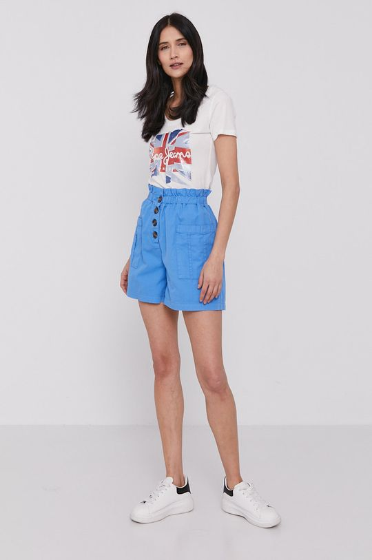 Pepe Jeans - T-shirt Blaze biały