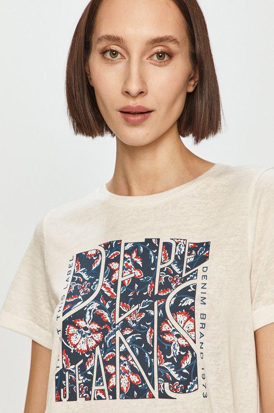 biały Pepe Jeans - T-shirt Brooklyn