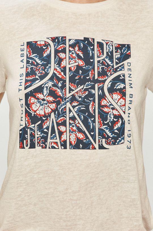 Pepe Jeans - T-shirt Brooklyn Damski