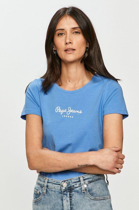 niebieski Pepe Jeans - T-shirt NEW VIRGINIA Damski