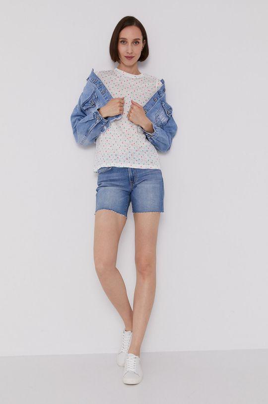 Pepe Jeans - T-shirt DENISE biały