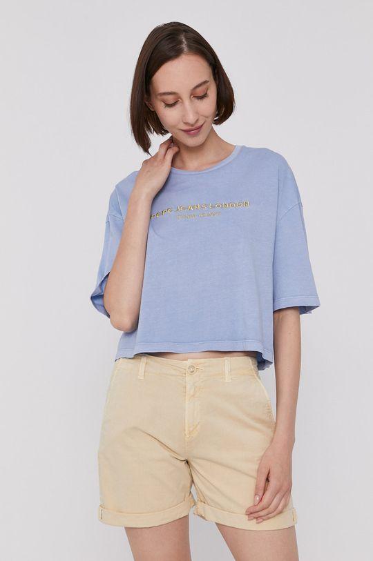 jasny niebieski Pepe Jeans - T-shirt DANIELLA Damski