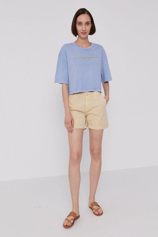 Pepe Jeans - T-shirt DANIELLA jasny niebieski