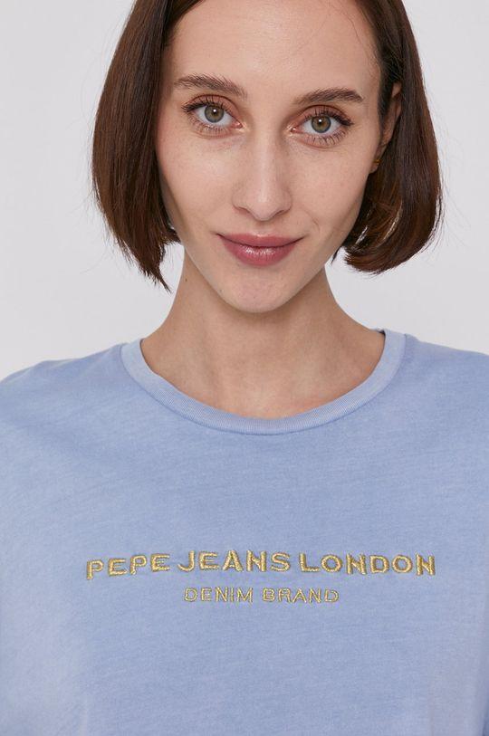 jasny niebieski Pepe Jeans - T-shirt DANIELLA