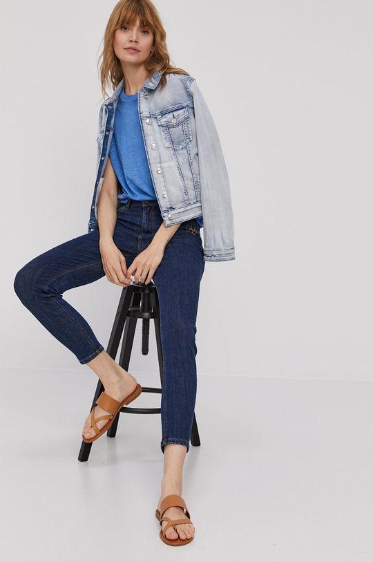 Pepe Jeans - Tričko Cleo modrá