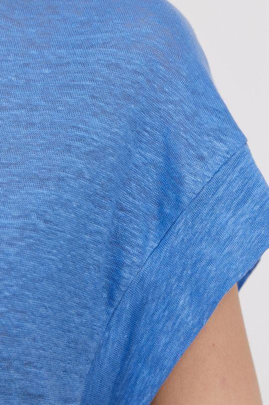 modrá Pepe Jeans - Tričko Cleo