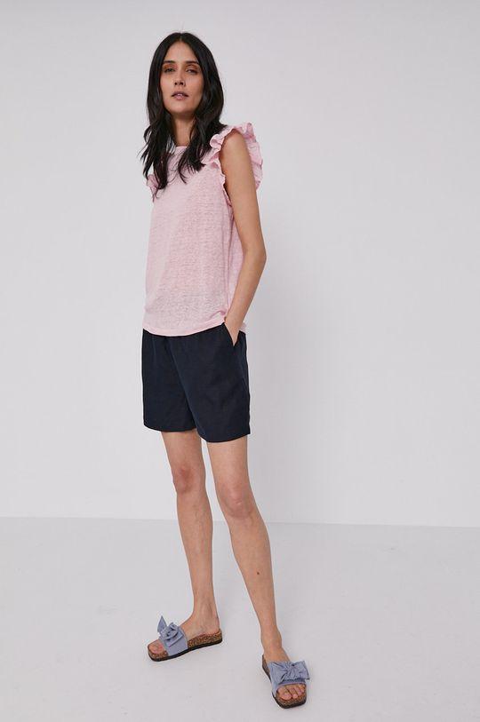 Pepe Jeans - T-shirt Daisy różowy
