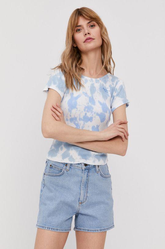 niebieski Pepe Jeans - T-shirt Anitas Damski