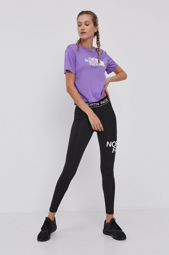 The North Face - T-shirt purpurowy