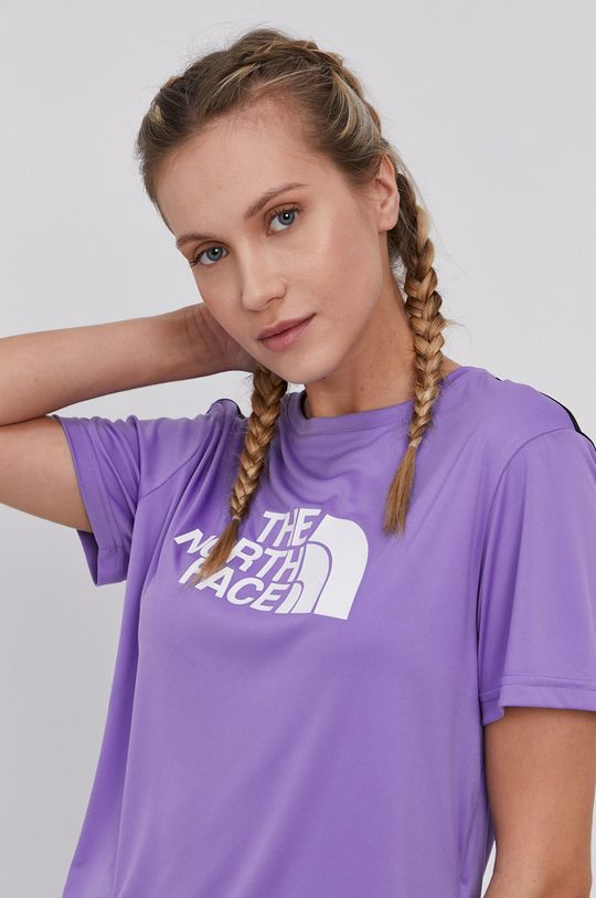 purpurowy The North Face - T-shirt