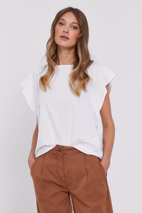 biały MAX&Co. - Bluzka bawełniana Damski