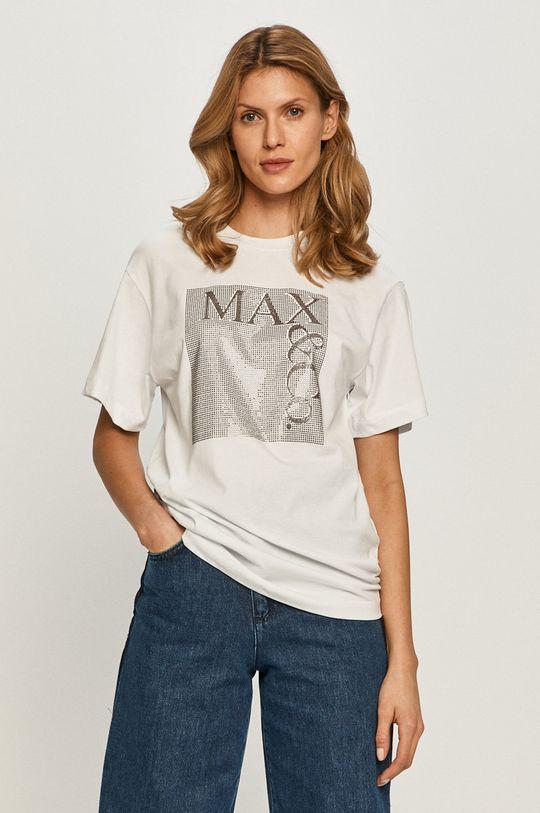 biały MAX&Co. - T-shirt Damski