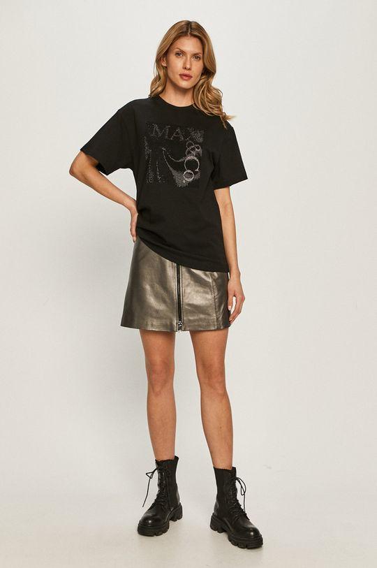 MAX&Co. - T-shirt czarny