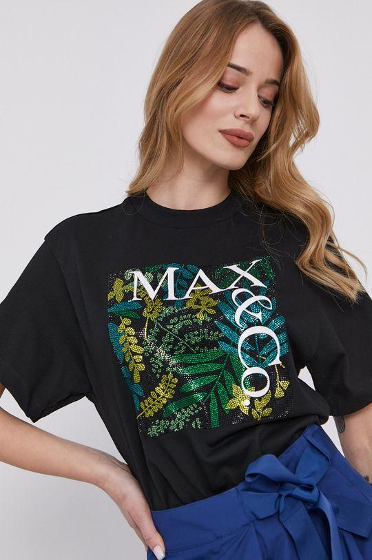 čierna MAX&Co. - Tričko Dámsky