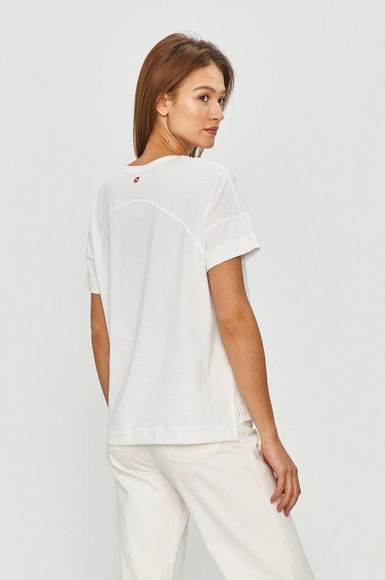 Desigual - T-shirt 100 % Bawełna, Wskazówki pielęgnacyjne:  prać w pralce w temperaturze 30 stopni, nie suszyć w suszarce bębnowej, nie wybielać, prasować w niskiej temperaturze