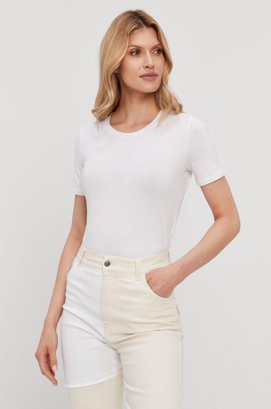 biały Max Mara Leisure - T-shirt Damski