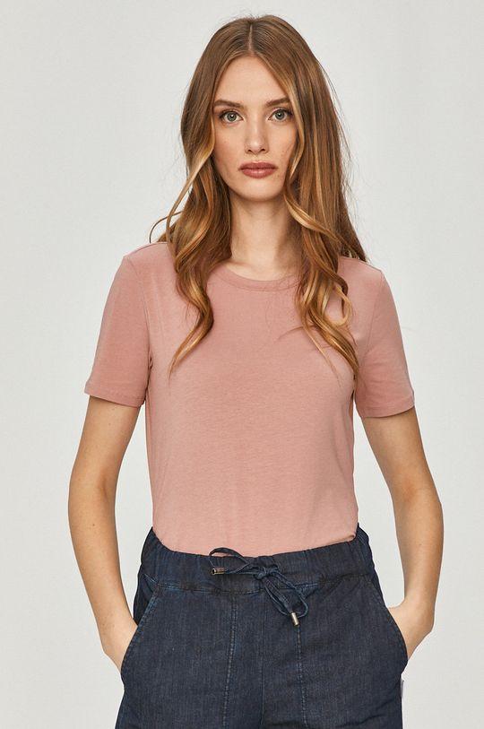 różowy Max Mara Leisure - T-shirt Damski