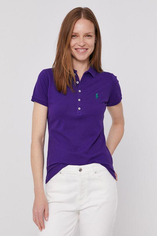 purpurová Polo Ralph Lauren - Tričko Dámský