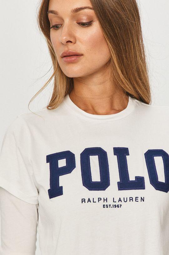 alb Polo Ralph Lauren - Tricou